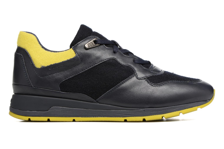 Sneaker Geox D SHAHIRA A D44N1A blau ansicht von hinten