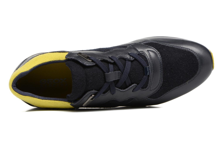 Sneaker Geox D SHAHIRA A D44N1A blau ansicht von links