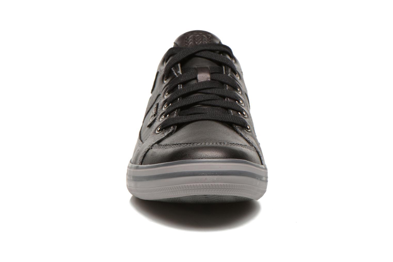 Baskets Geox U BOX D U44R3D Noir vue portées chaussures
