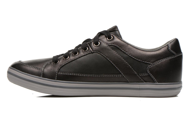 Sneaker Geox U BOX D U44R3D schwarz ansicht von vorne