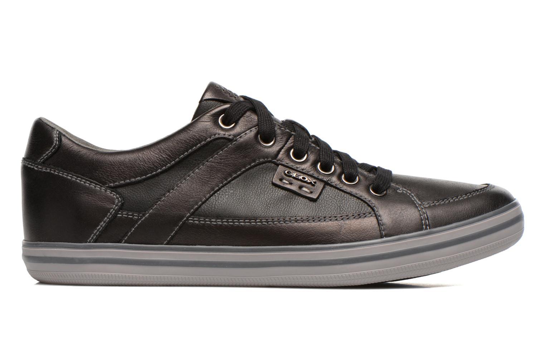 Sneakers Geox U BOX D U44R3D Zwart achterkant