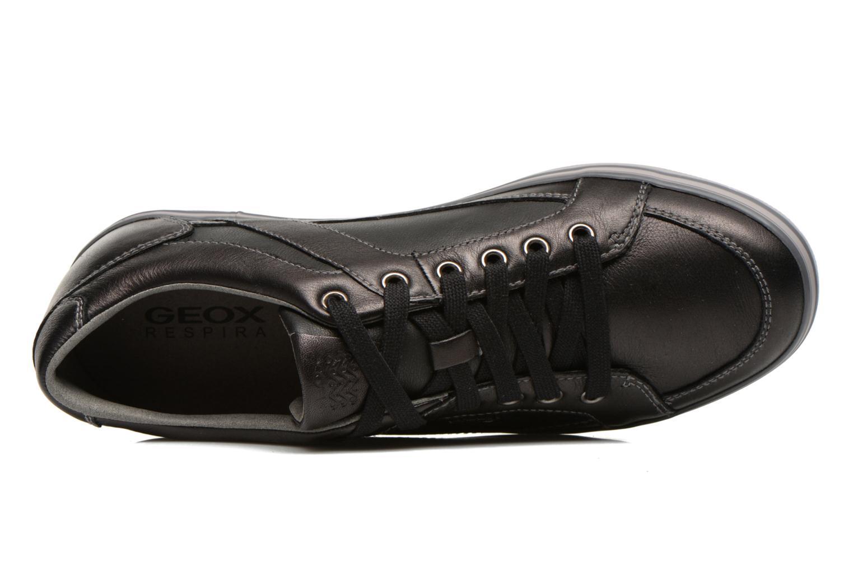 Sneaker Geox U BOX D U44R3D schwarz ansicht von links