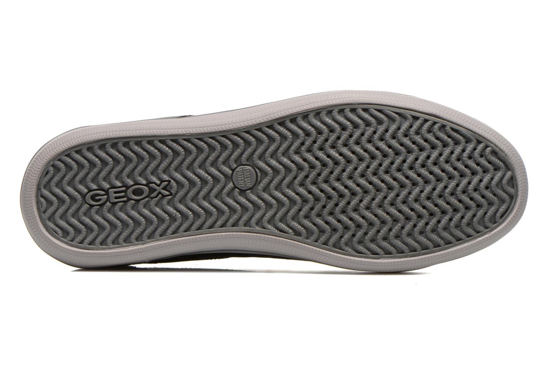 Sneaker Geox U BOX D U44R3D schwarz ansicht von oben
