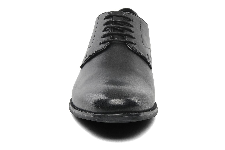 Schnürschuhe Geox U ALBERT 2FIT F U44W3F schwarz schuhe getragen