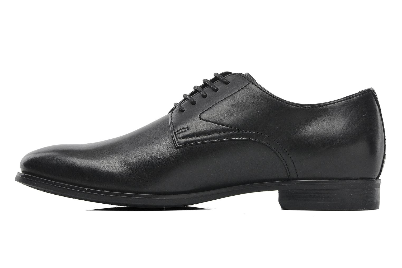 Lace-up shoes Geox U ALBERT 2FIT F U44W3F Black front view