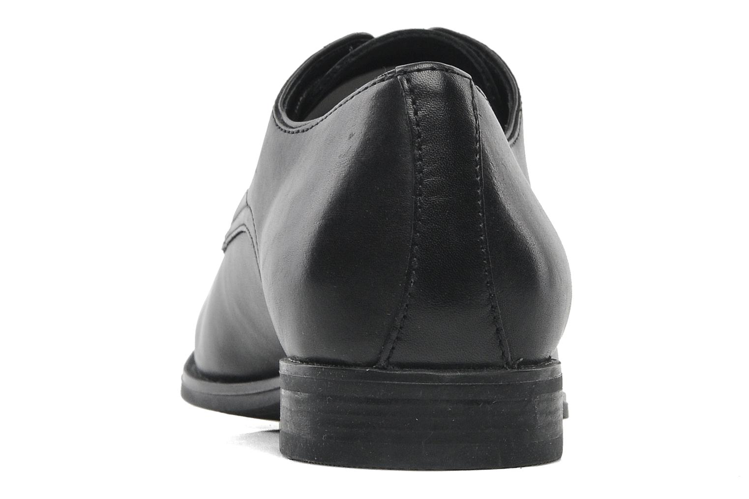 Lace-up shoes Geox U ALBERT 2FIT F U44W3F Black view from the right