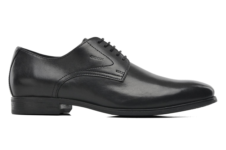 Lace-up shoes Geox U ALBERT 2FIT F U44W3F Black back view