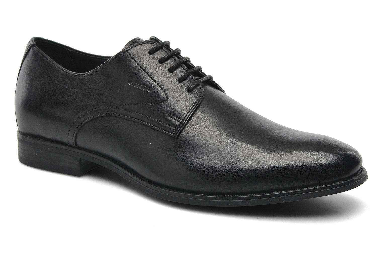 Chaussures à lacets Geox U ALBERT 2FIT F U44W3F Noir vue détail/paire
