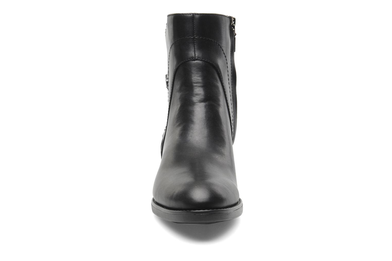 Stiefeletten & Boots Geox D FELICITY ABX D44X9A schwarz schuhe getragen