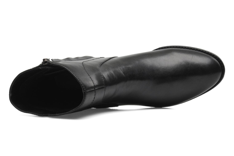 Boots en enkellaarsjes Geox D FELICITY ABX D44X9A Zwart links