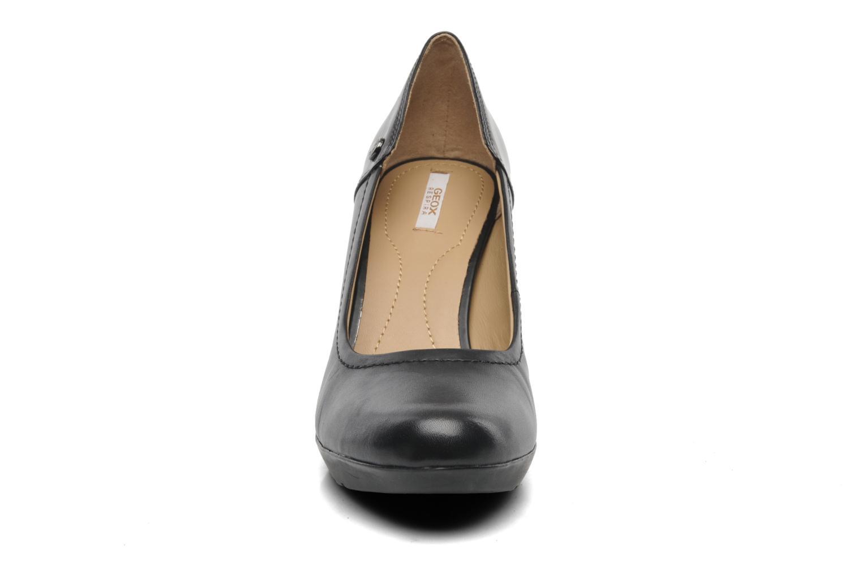 Escarpins Geox D INSPIRATION D44R4A Noir vue portées chaussures