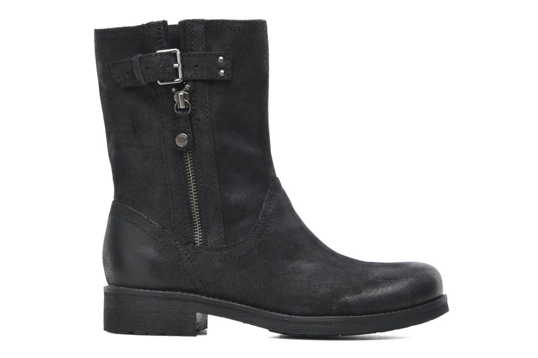 Boots en enkellaarsjes Geox D NEWVIRNA C D4451C Zwart achterkant