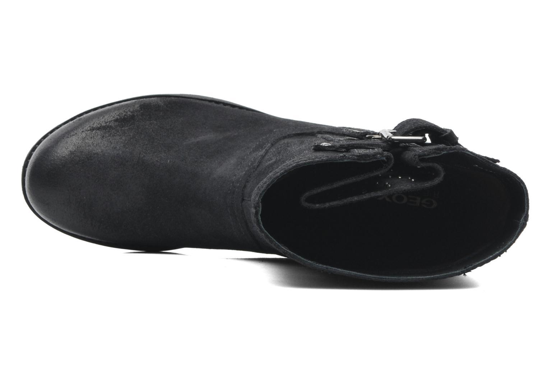 Boots en enkellaarsjes Geox D NEWVIRNA C D4451C Zwart links