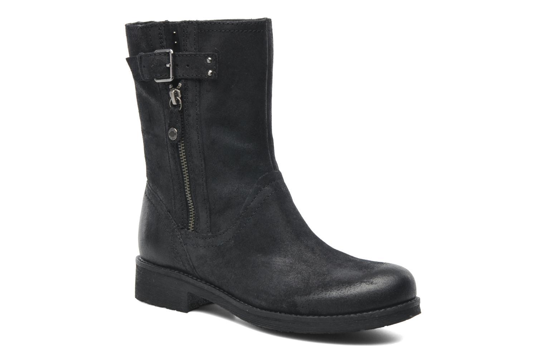 Boots en enkellaarsjes Geox D NEWVIRNA C D4451C Zwart detail