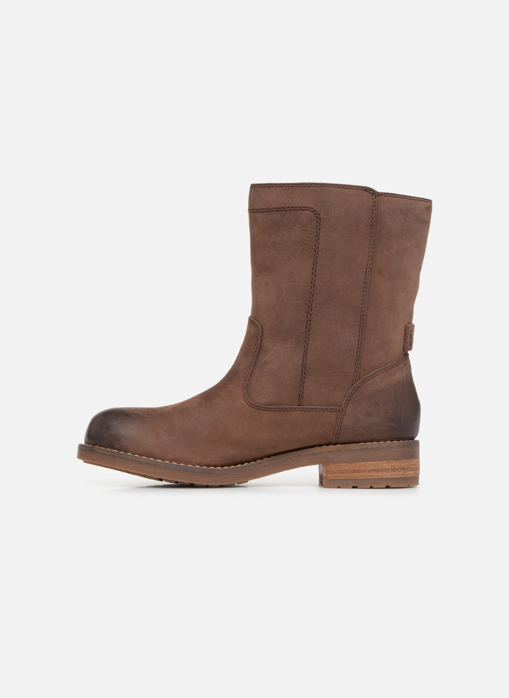 Bottines et boots Geox D VIRNA B ABX D44N5D Marron vue face