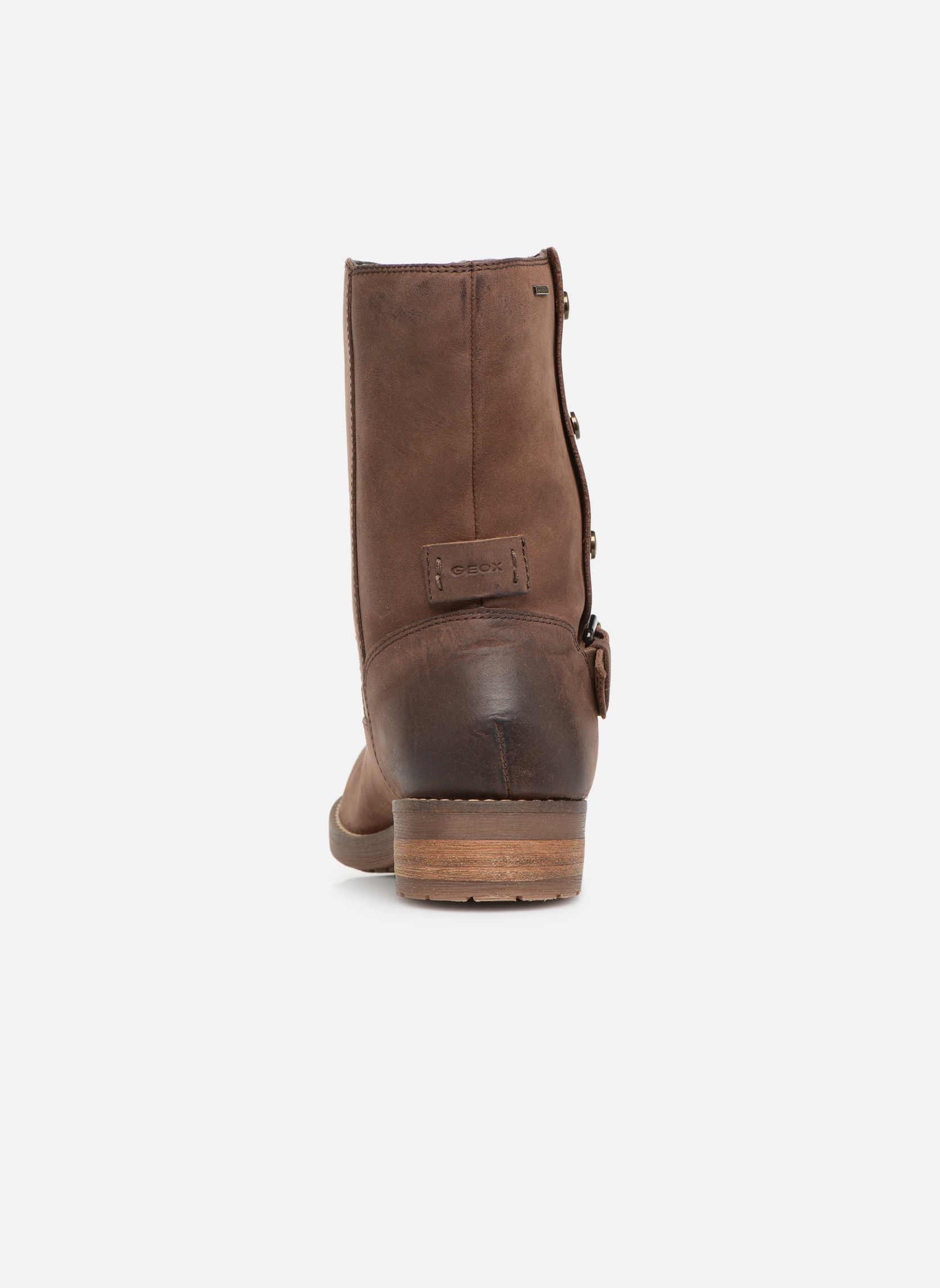 Boots en enkellaarsjes Geox D VIRNA B ABX D44N5D Bruin rechts