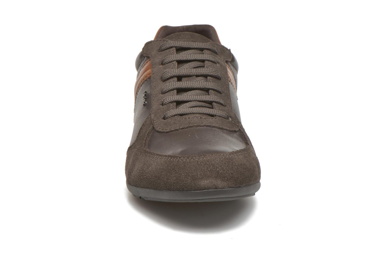 Sneaker Geox U XENON B U44Z6B braun schuhe getragen