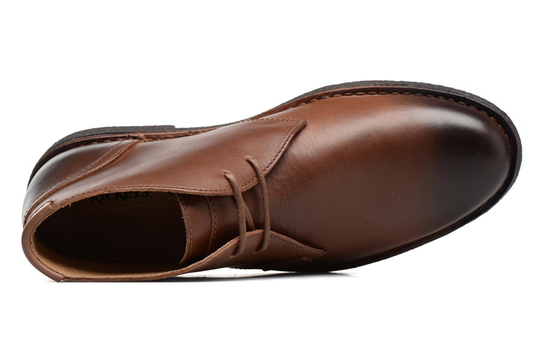 Chaussures à lacets Kickers Mistic Marron vue gauche