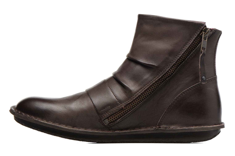 Bottines et boots Kickers Waouh Marron vue face