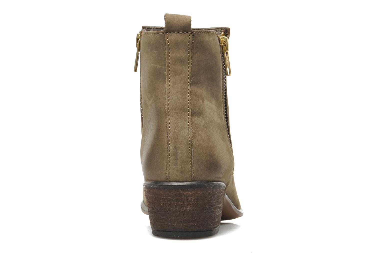 Boots en enkellaarsjes Steve Madden NEOVISTA Beige rechts