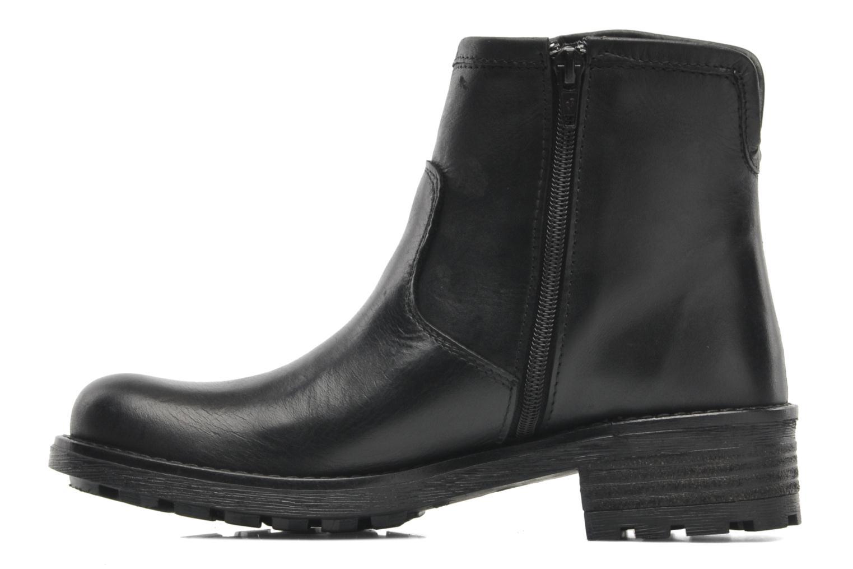 Boots en enkellaarsjes Pastelle Anna Zwart voorkant