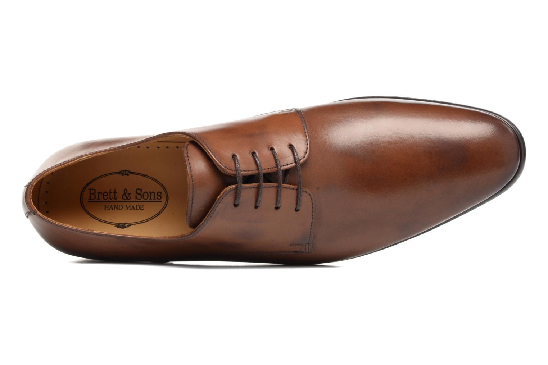 Chaussures à lacets Brett & Sons Bari Marron vue gauche