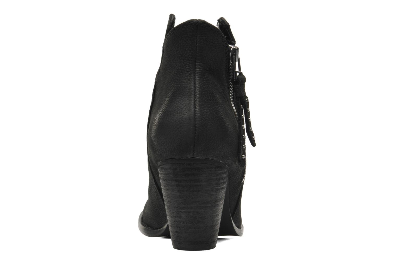 Ankle boots Steve Madden WHYSPER Black view from the right