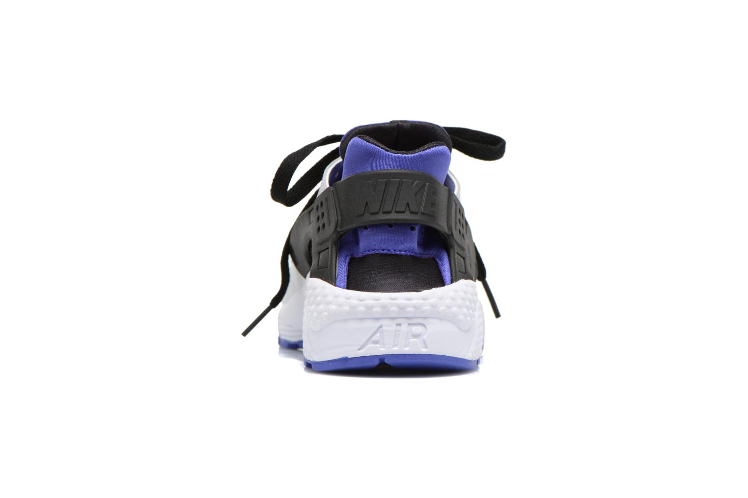 Black/white Nike Nike Air Huarache (Noir)