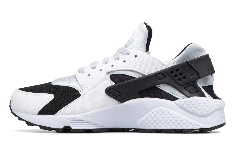 Baskets Nike Nike Air Huarache Blanc vue face