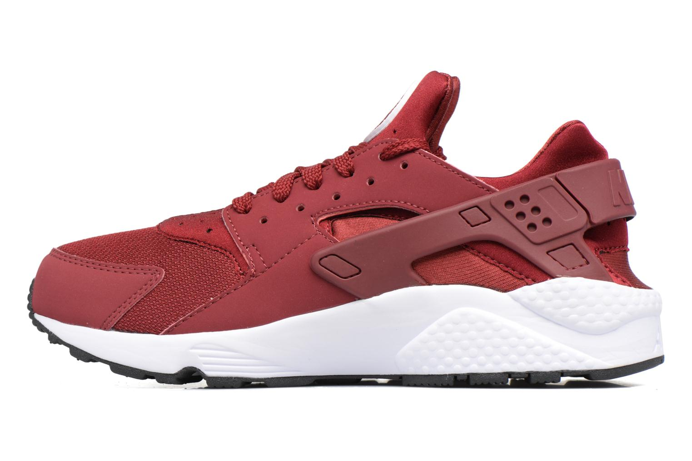 Sneaker Nike Nike Air Huarache rot ansicht von vorne