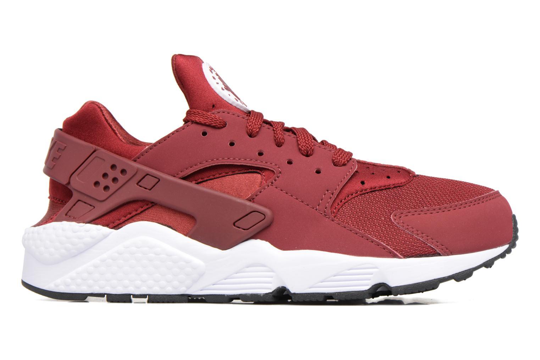 Sneaker Nike Nike Air Huarache rot ansicht von hinten