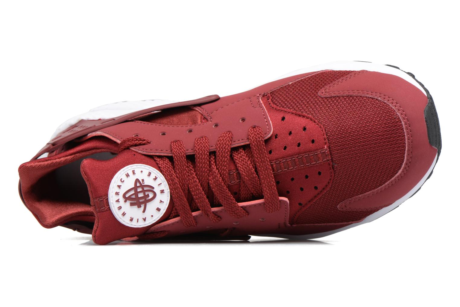 Baskets Nike Nike Air Huarache Rouge vue gauche