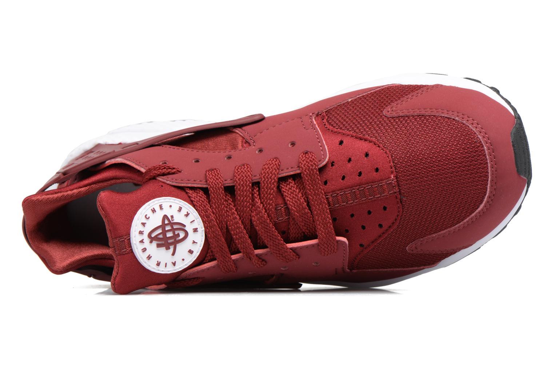 Sneaker Nike Nike Air Huarache rot ansicht von links