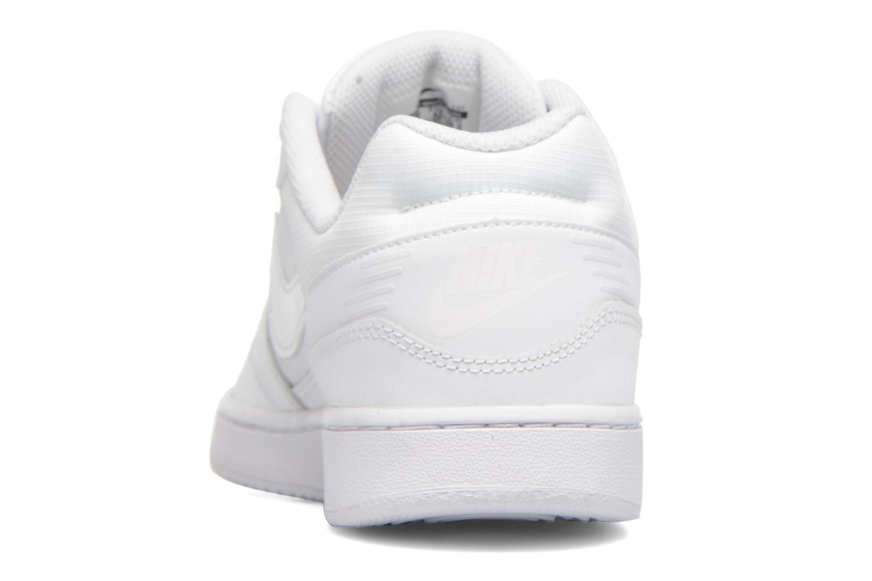 Baskets Nike Nike Priority Low Blanc vue droite