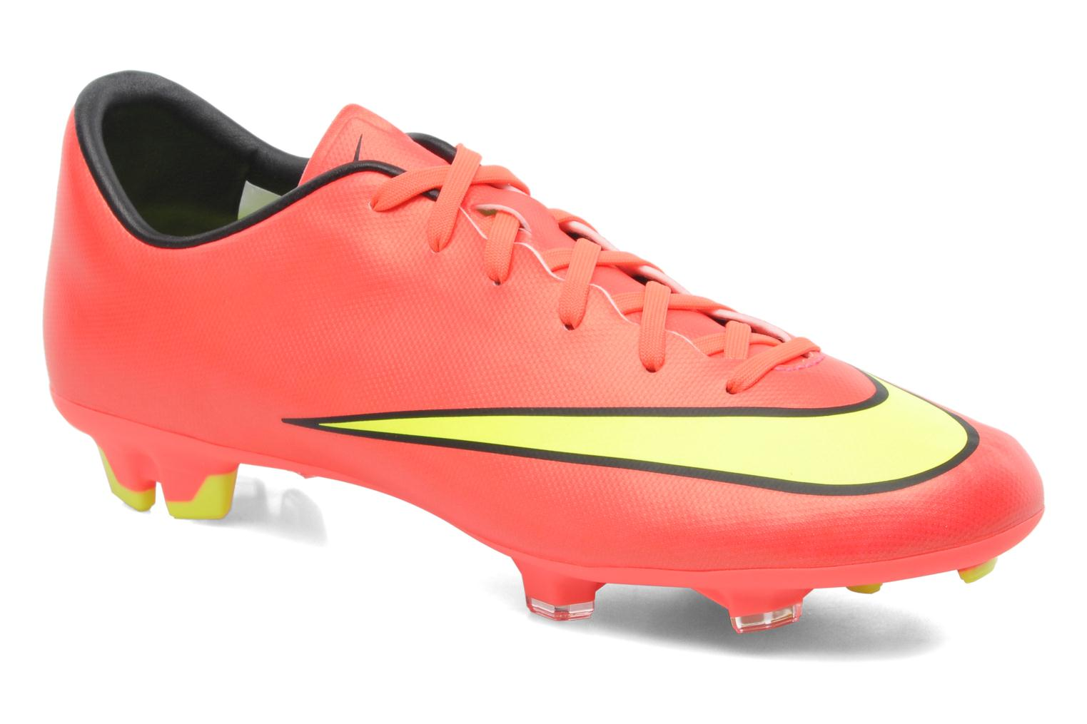 Sport shoes Nike Mercurial Victory V Fg Pink detailed view Pair view