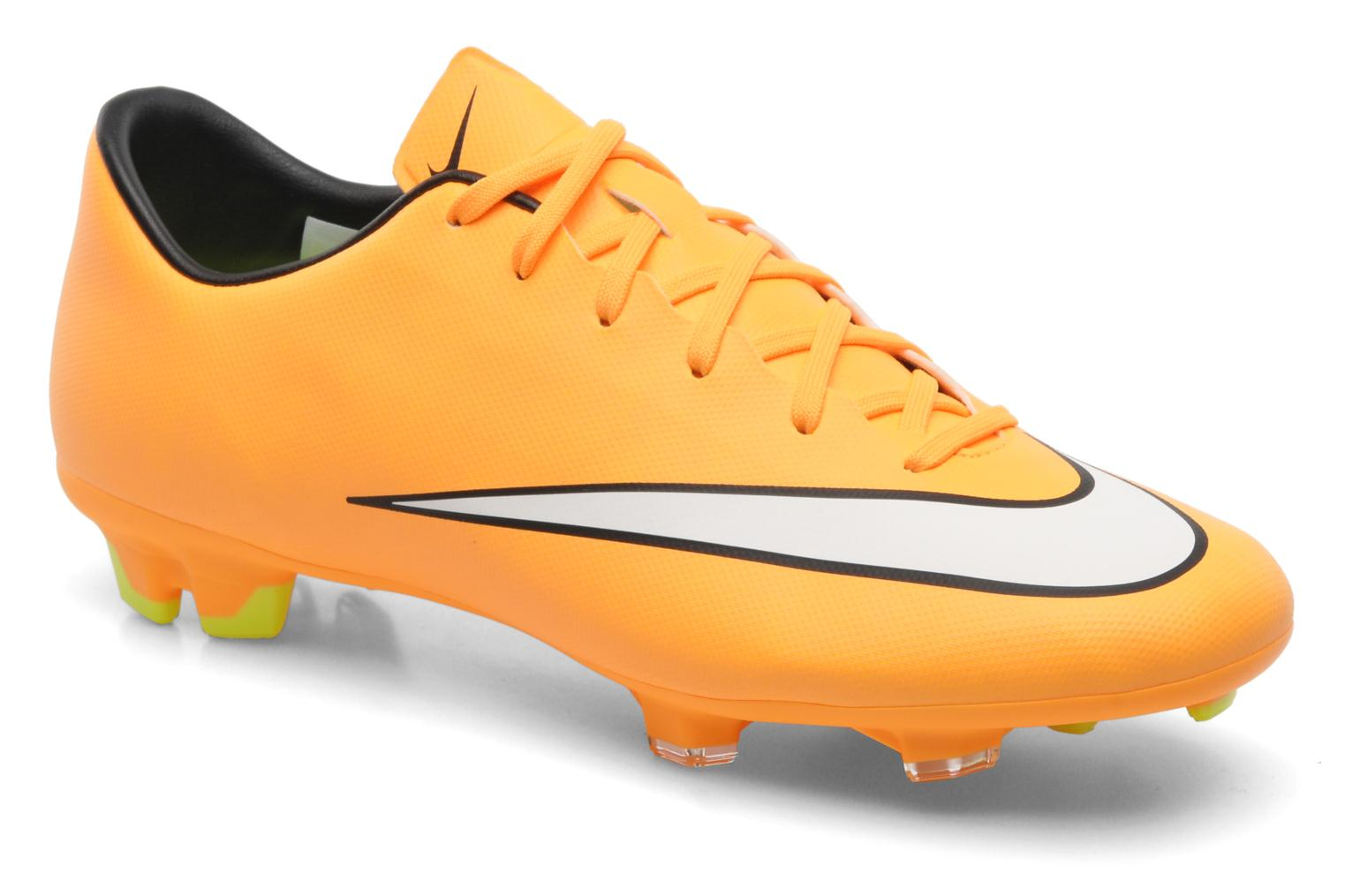 Sport shoes Nike Mercurial Victory V Fg Orange detailed view/ Pair view