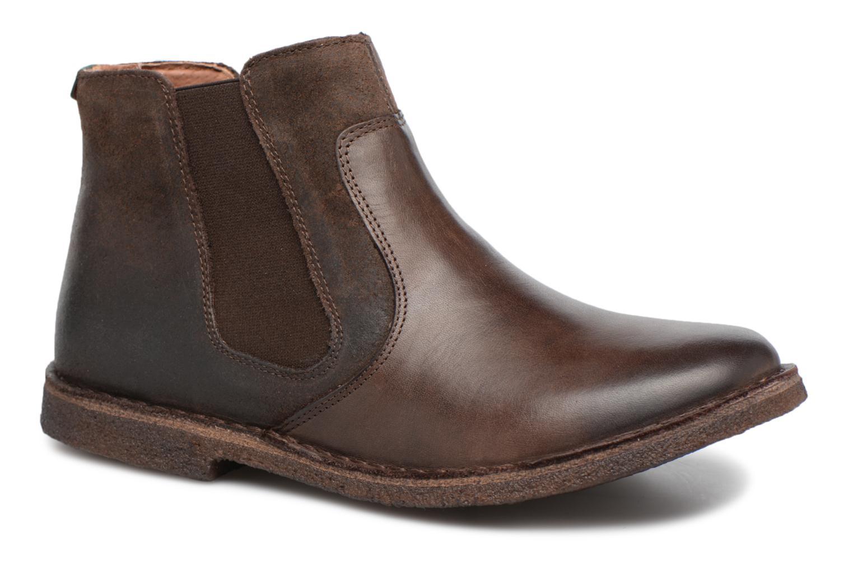 Zapatos de mujer baratos zapatos de mujer Kickers Creboots (Marrón) - Botines  en Más cómodo