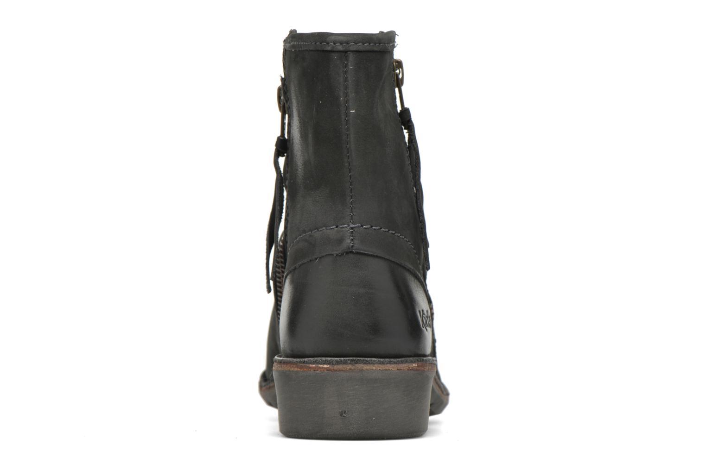 Bottines et boots Kickers Groove Soft Gris vue droite