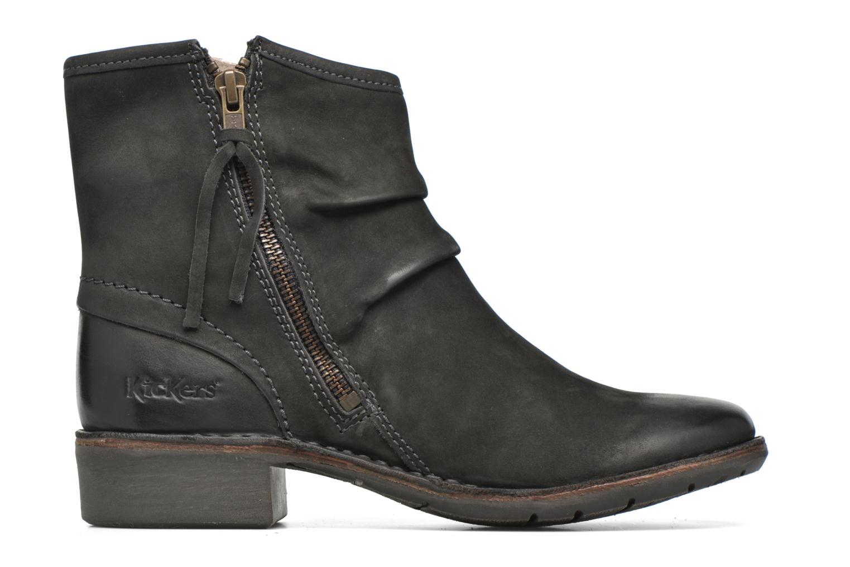 Bottines et boots Kickers Groove Soft Gris vue derrière