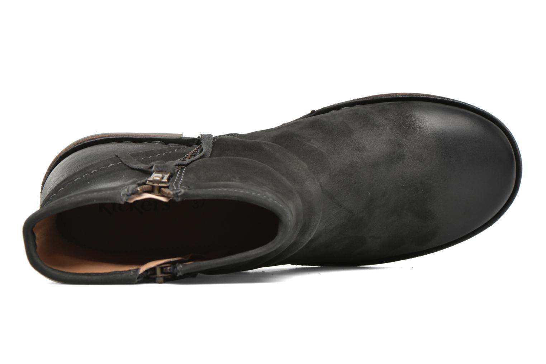Bottines et boots Kickers Groove Soft Gris vue gauche