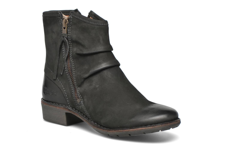 Bottines et boots Kickers Groove Soft Gris vue détail/paire