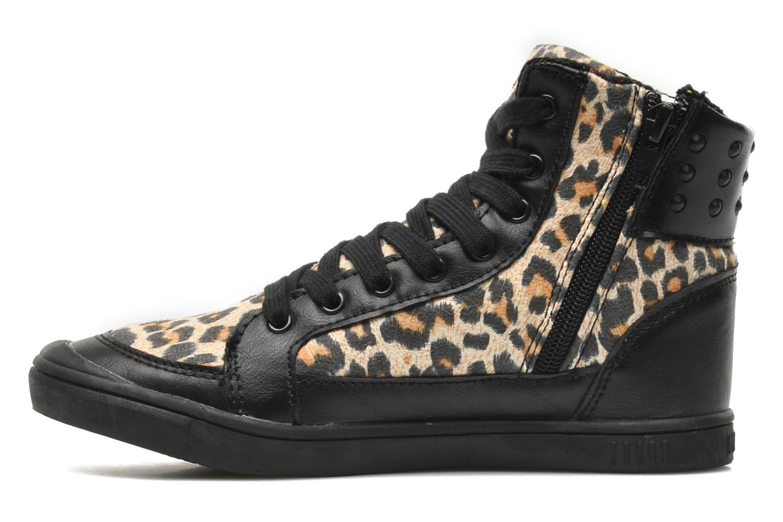 Sneakers Little Marcel PRALINE J Zwart voorkant