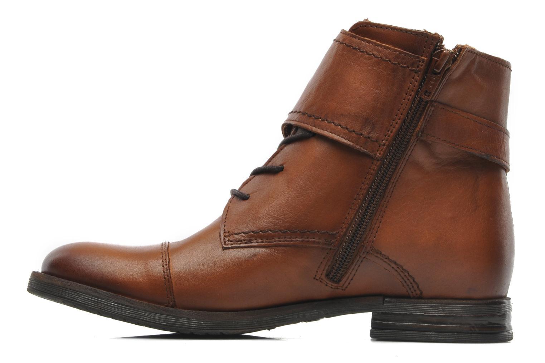 Boots en enkellaarsjes Mustang shoes Ildys Bruin voorkant