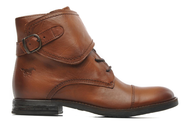 Boots en enkellaarsjes Mustang shoes Ildys Bruin achterkant