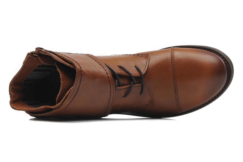 Stiefeletten & Boots Mustang shoes Ildys braun ansicht von links