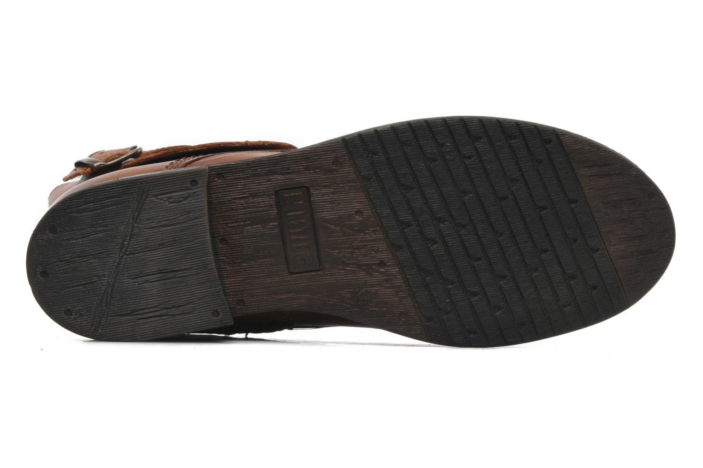 Stiefeletten & Boots Mustang shoes Ildys braun ansicht von oben
