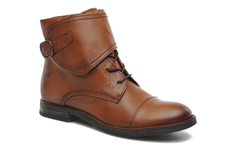 Boots en enkellaarsjes Mustang shoes Ildys Bruin detail