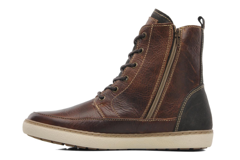 Stivaletti e tronchetti Mustang shoes Odor Marrone immagine frontale