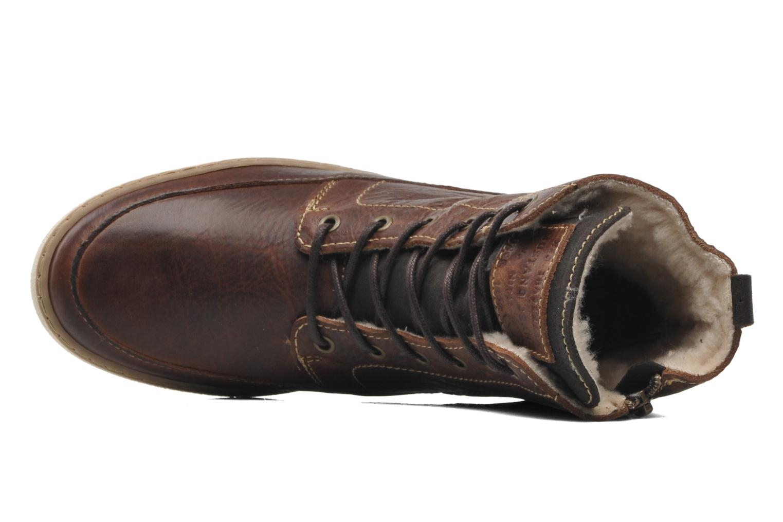 Ankelstøvler Mustang shoes Odor Brun se fra venstre