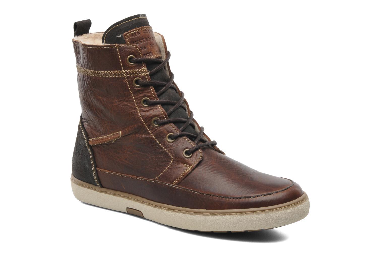 Ankelstøvler Mustang shoes Odor Brun detaljeret billede af skoene